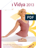 Yoga Vidya Katalog 2013