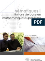 Notions de Base en Mathematiques Superieures