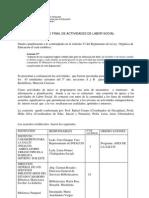Informe Labor Social 2010-2011