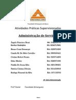 ATPS Etapas completo  ADM de Serviços