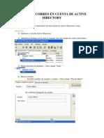 KBA-1015- Desvio de Correo en Cuenta de Active Directory