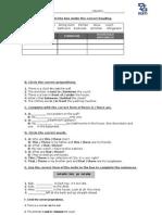 Examen Unidad 2 Ingles 1[1]