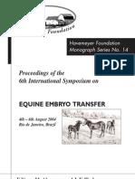 Equine Embryo Transfer_2004brazilmonograph