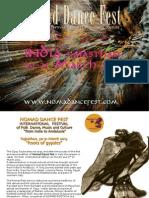 Nomad dance fest India 2013-Brochure