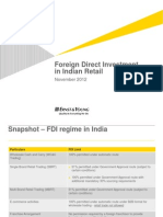 Foreign Direct Investment in Indian Retail