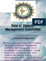 Disaster Management Committee