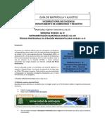 Instructivo Matricula Medicina UdeA 2012