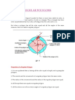 Properties of a Regular Polygon