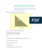 Theorems and Proofs