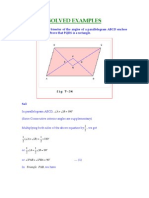 Examples for Special Parallelograms