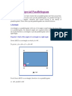 Special Parallelogram Doc II