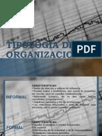 Tipologia de La Organzacion