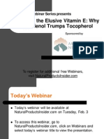 Decoding the Elusive Vitamin E