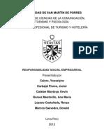 UNIVERSIDAD DE SAN MARTÍN DE PORRES RESPONSABILIDAD SOCIAL