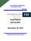 OpenSky Radio System - Palm Beach County Auditors Report 2012