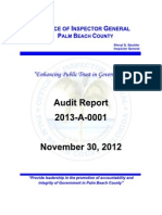 OpenSky Radio System - Palm Beach County Auditors Report 2012
