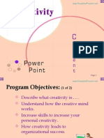 Creativity Power Point