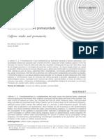 consumo de cafeína e prematuridade