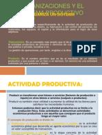 Organizaciones y El Sistema Productivo Olga
