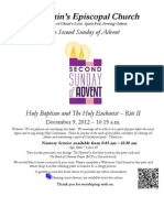 2A 1015 Dec 9 2012 With Holy Baptism