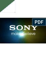 Marketing Mix of Sony Electronics