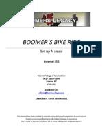 Boomer's Legacy Bike Ride Manual