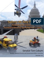 Homeland Security Spending Report Tom Coburn