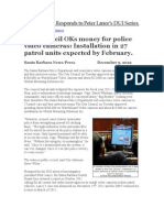City Council OKs money for police video cameras