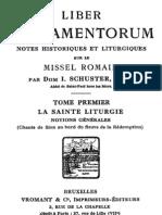 Card. Schuster, Liber Sacramentorum, vol. I