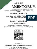 Card. Schuster, Liber Sacramentorum, vol. 3