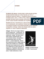 Diccionario de Ballet