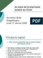Presentation+Exercice Gestion Pharmacie IO