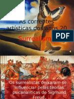 As Correntes Artísticas Dos Anos 20-Mila