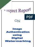 Image Authentication Using Reversible Watermarking