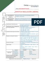 Pompas fúnebres. ACTIVIDAD Analisis Normativa Regulacion Laboral