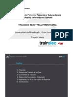 04 Trainelec Traccion Electrica Ferroviaria