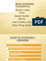 Derecho Societario (1) Nuevooo 2 x Miii
