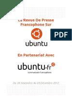 Revue de Presse Francophone sur Ubuntu