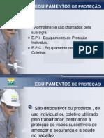 PALESTRA - EQUIPAMENTO  DE PROTEÇÃO INDIVIDUAL