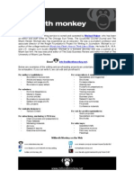 one-pager - Millionth Monkey, Inc.