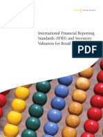 International Financial Reporting Standards IFRS and Inventory Valuation for Retail Companies