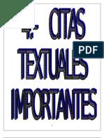 CITAS TEXTUALES 4