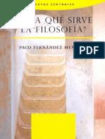 Paco Fernandez Mengual - ¿Para qué sirve la filosofía