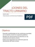 desviaciones del tracto urinario