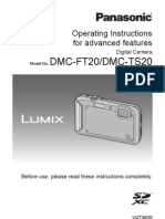 Dmc-ft20 Advanced Operating Instructions