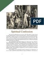 Spiritual Confession