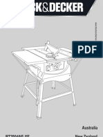 Table Saw Manual v4 by Steve With Part Number