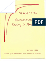 ASA Newsletter 1984 Summer