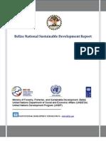 Belize National Sustainable Development Report