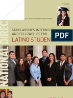 CHCI National Scholarships Internships Fellowships for Latino Students 6th Edition